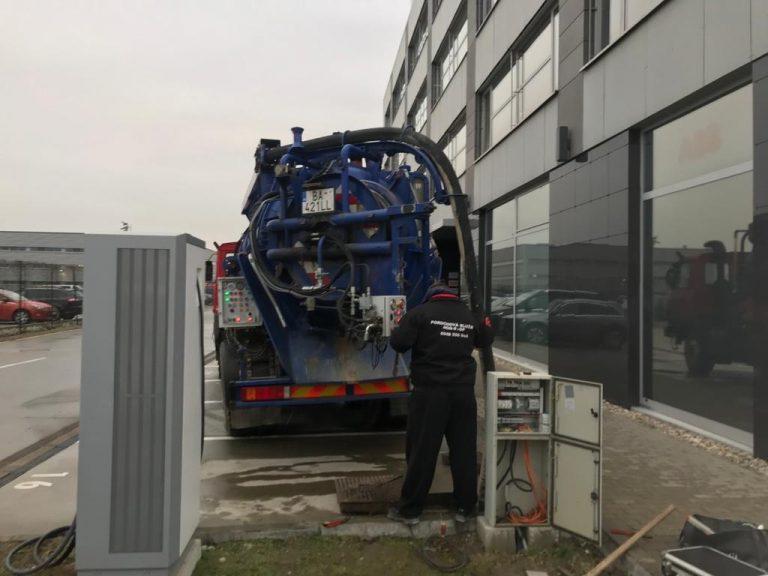 PS Stav s. r. o. - Servis a výmena kanalizačných prečerpávačiek